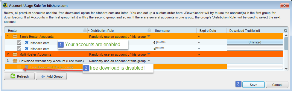Account Manager Gt Account Useage Rule Disable Free